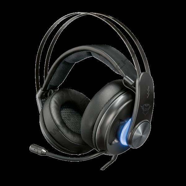 Trust Fejhallgató 7.1 - GXT383 Dion Bass Vibration (mikrofon   hangerőszabályzó  USB+OptikaiSPDIF 392aa6e978