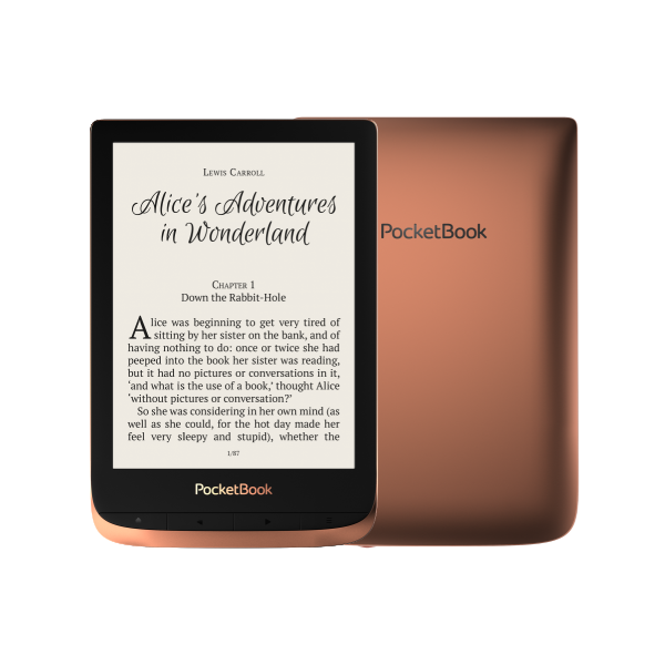 POCKETBOOK e-Reader - PB632 TOUCH HD3 Spicy Copper (6